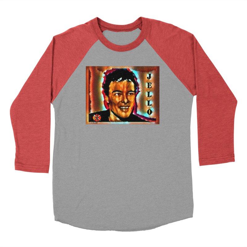 Jello Biafra watercolor Art 2020 Men's Longsleeve T-Shirt by James DeWeaver - Artist - Official Merchandise