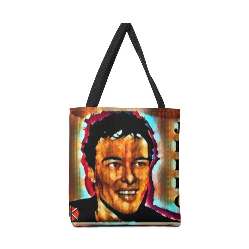 Jello Biafra watercolor Art 2020 Accessories Bag by James DeWeaver - Artist - Official Merchandise