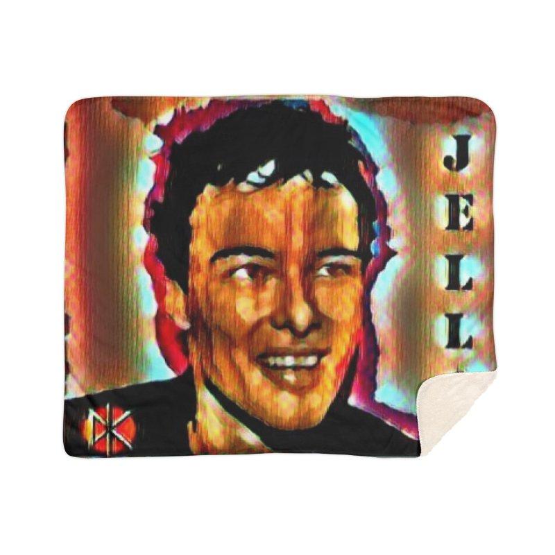 Jello Biafra watercolor Art 2020 Home Blanket by James DeWeaver - Artist - Official Merchandise