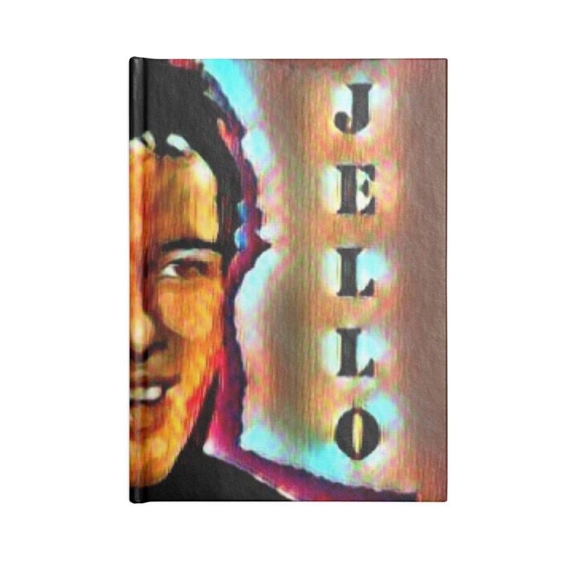 Jello Biafra watercolor Art 2020 Accessories Notebook by James DeWeaver - Artist - Official Merchandise