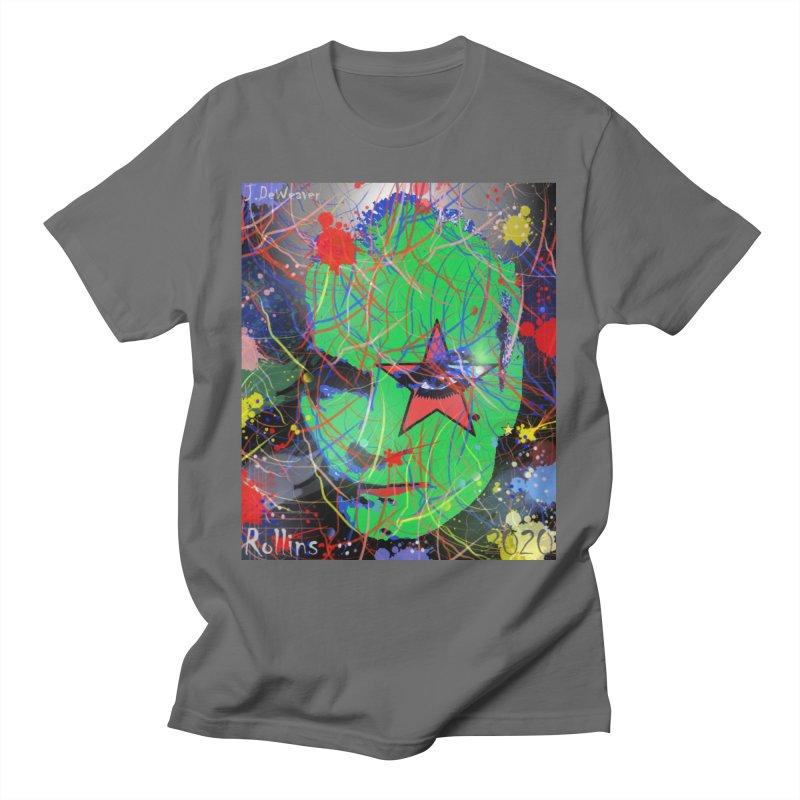 "Henry Rollins ""Starman"" 2020 Men's T-Shirt by James DeWeaver - Artist - Official Merchandise"