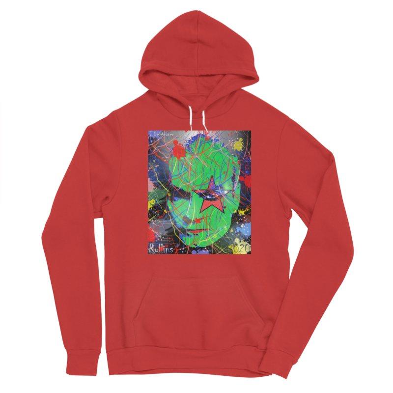 "Henry Rollins ""Starman"" 2020 Women's Pullover Hoody by James DeWeaver - Artist - Official Merchandise"