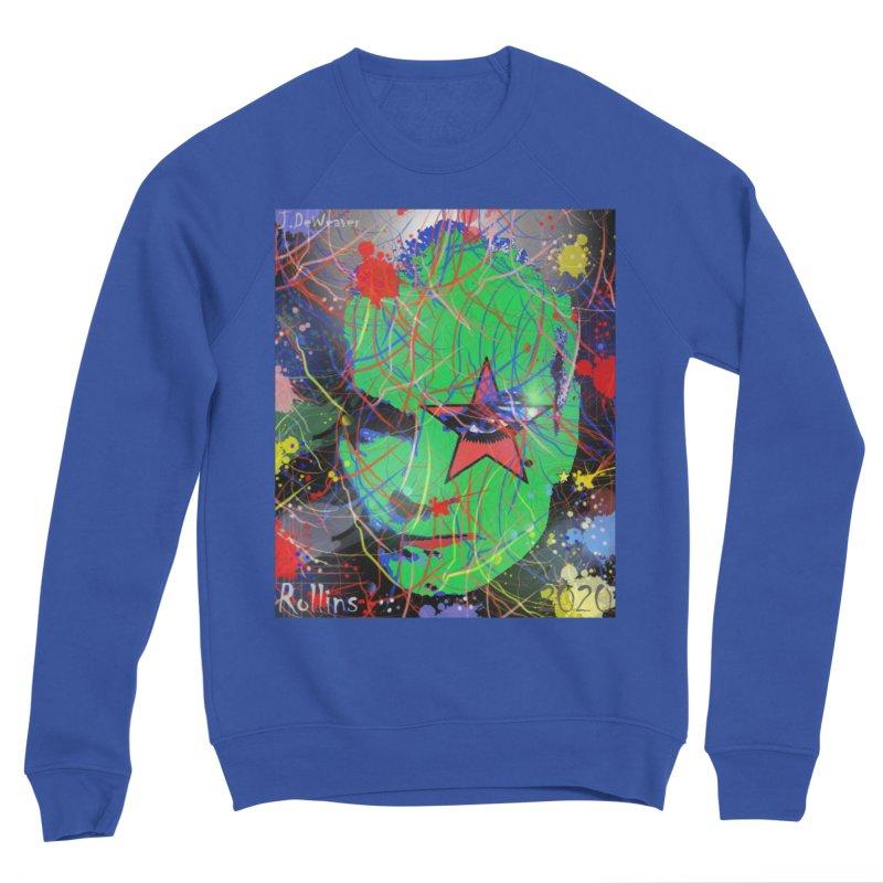 """Henry Rollins """"Starman"""" 2020 Men's Sweatshirt by James DeWeaver - Artist - Official Merchandise"""