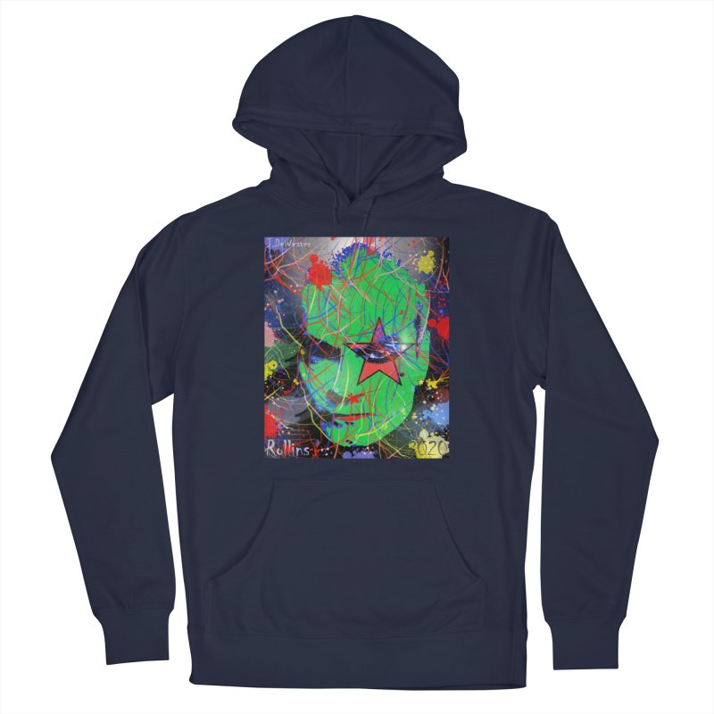 "Henry Rollins ""Starman"" 2020 Men's Pullover Hoody by James DeWeaver - Artist - Official Merchandise"