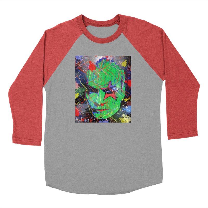 "Henry Rollins ""Starman"" 2020 Men's Longsleeve T-Shirt by James DeWeaver - Artist - Official Merchandise"