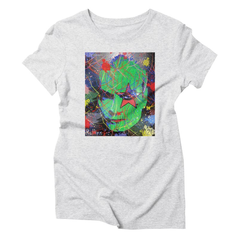 "Henry Rollins ""Starman"" 2020 Women's T-Shirt by James DeWeaver - Artist - Official Merchandise"