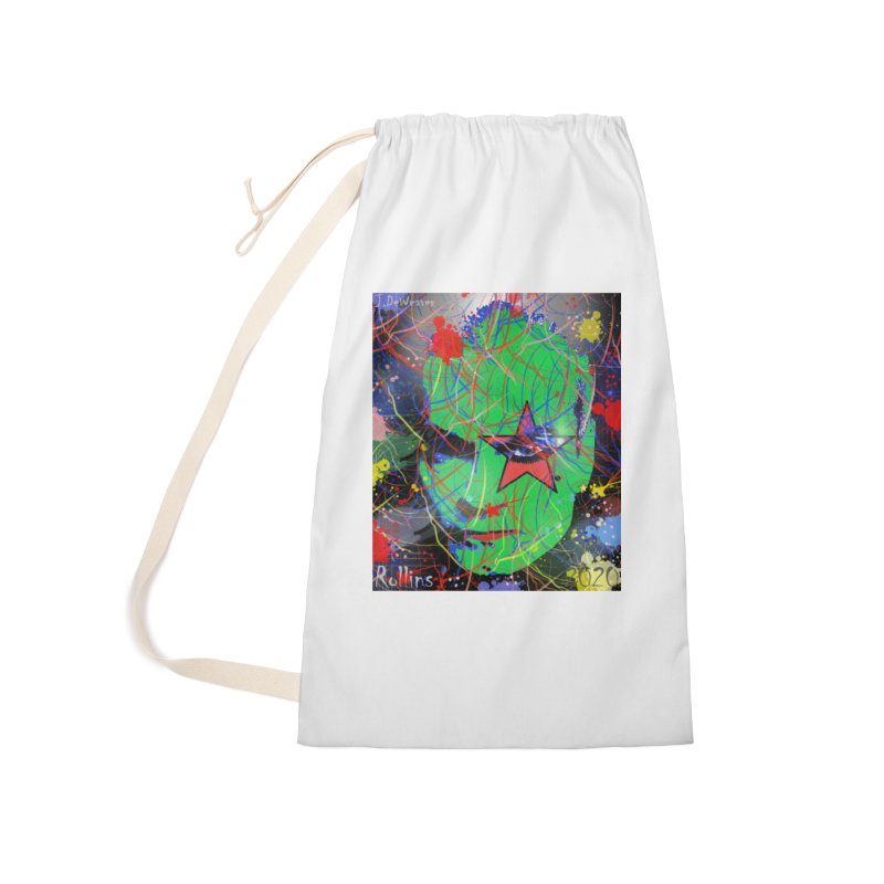 "Henry Rollins ""Starman"" 2020 Accessories Bag by James DeWeaver - Artist - Official Merchandise"