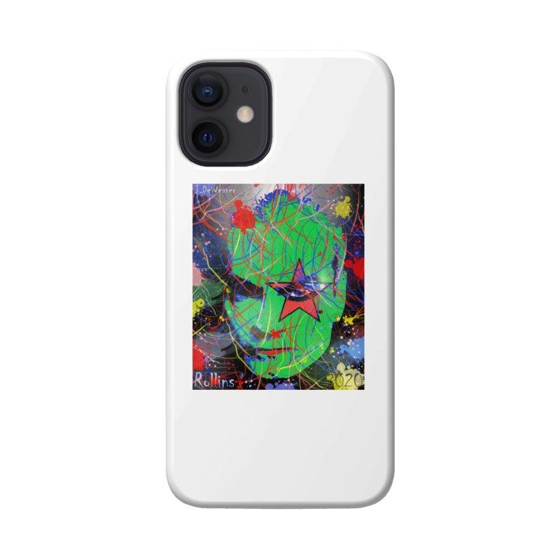 "Henry Rollins ""Starman"" 2020 Accessories Phone Case by James DeWeaver - Artist - Official Merchandise"
