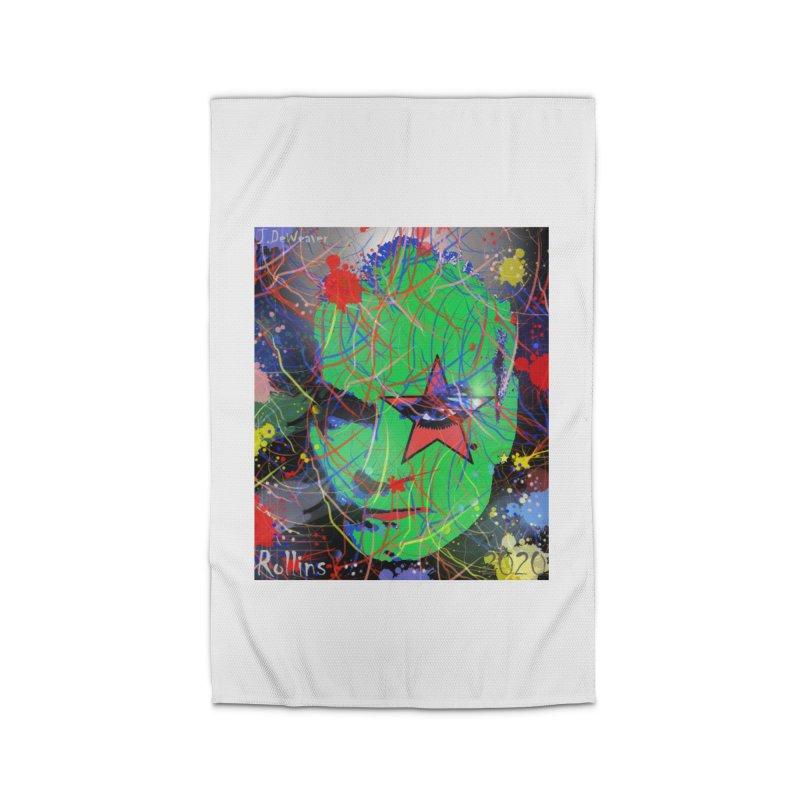 "Henry Rollins ""Starman"" 2020 Home Rug by James DeWeaver - Artist - Official Merchandise"