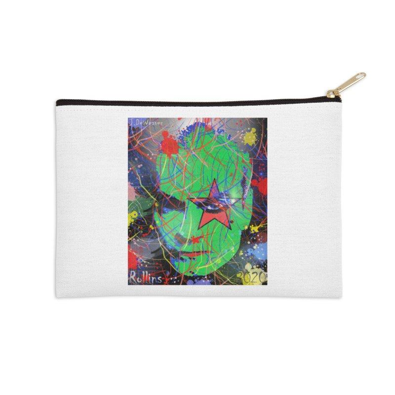 "Henry Rollins ""Starman"" 2020 Accessories Zip Pouch by James DeWeaver - Artist - Official Merchandise"