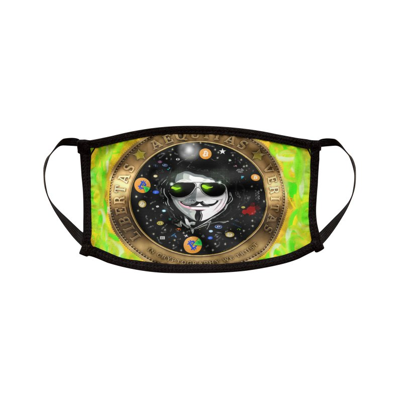 Bitcoin is not Anonymous 2020 Accessories Face Mask by James DeWeaver - Artist - Official Merchandise