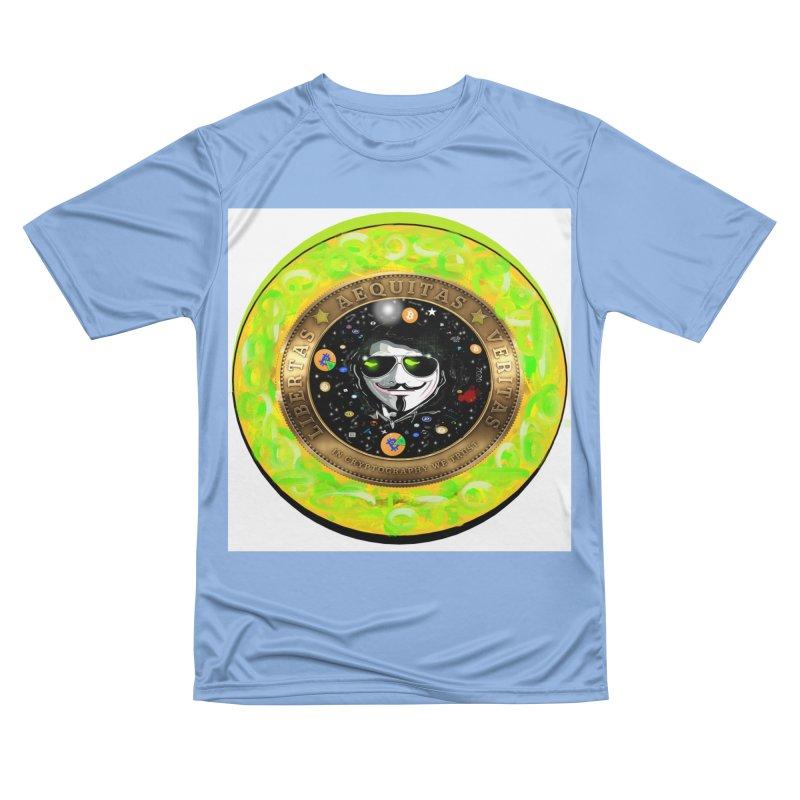 Bitcoin is not Anonymous 2020 Men's T-Shirt by James DeWeaver - Artist - Official Merchandise