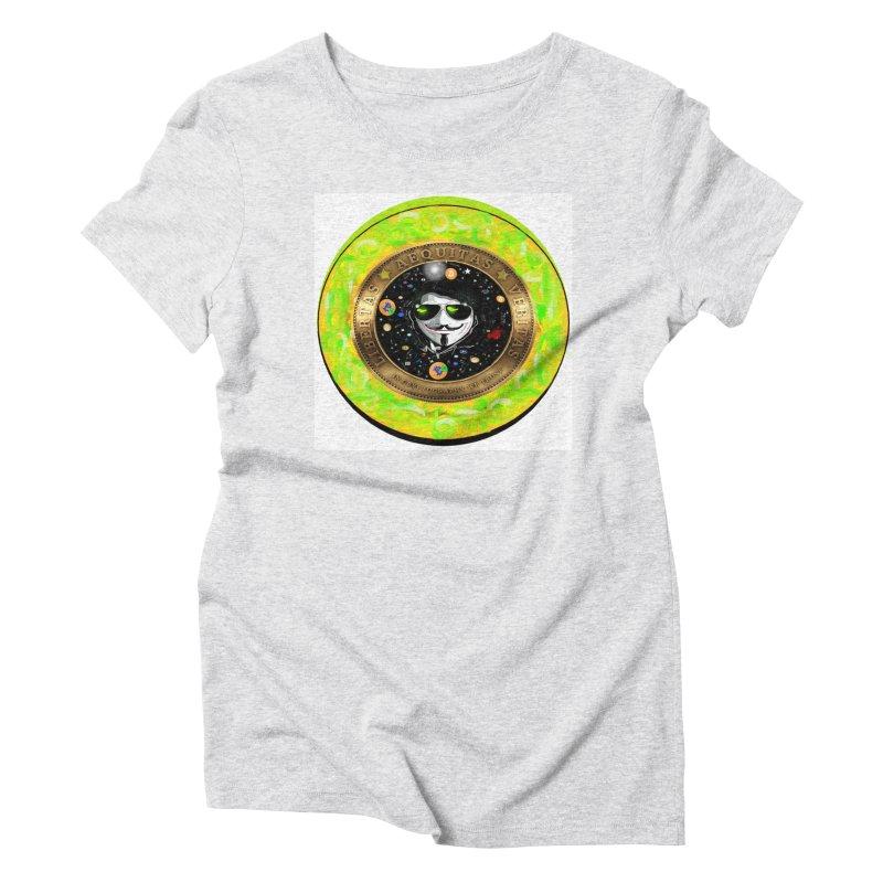 Bitcoin is not Anonymous 2020 Women's T-Shirt by James DeWeaver - Artist - Official Merchandise