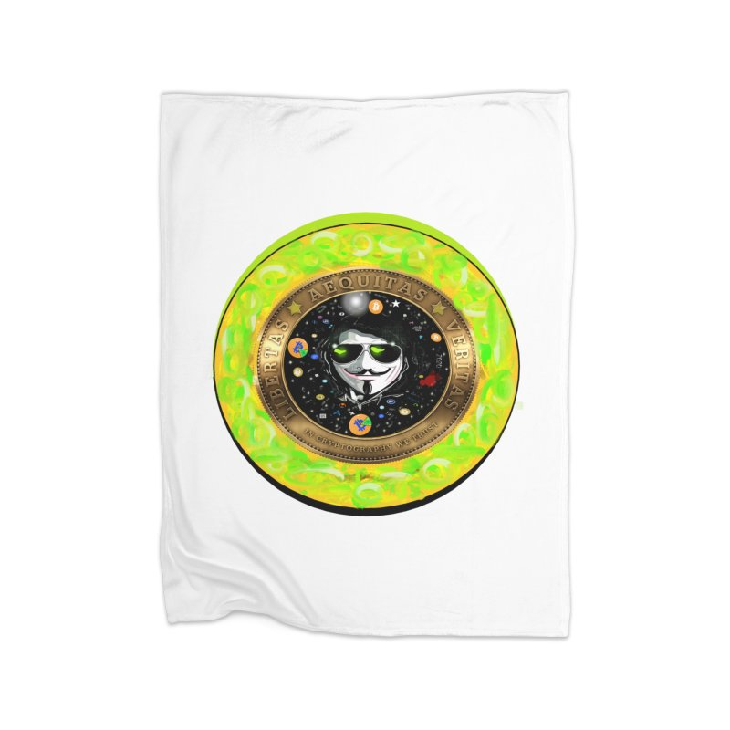 Bitcoin is not Anonymous 2020 Home Blanket by James DeWeaver - Artist - Official Merchandise