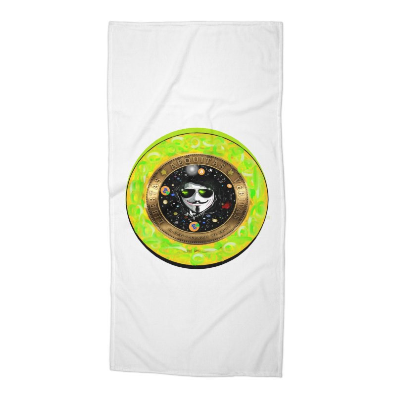 Bitcoin is not Anonymous 2020 Accessories Beach Towel by James DeWeaver - Artist - Official Merchandise