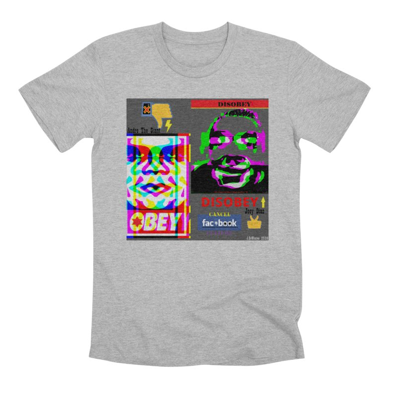 OBEY DISOBEY 2020 Men's T-Shirt by James DeWeaver - Artist - Official Merchandise