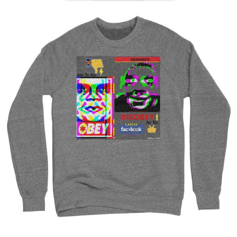 OBEY DISOBEY 2020 Women's Sweatshirt by James DeWeaver - Artist - Official Merchandise