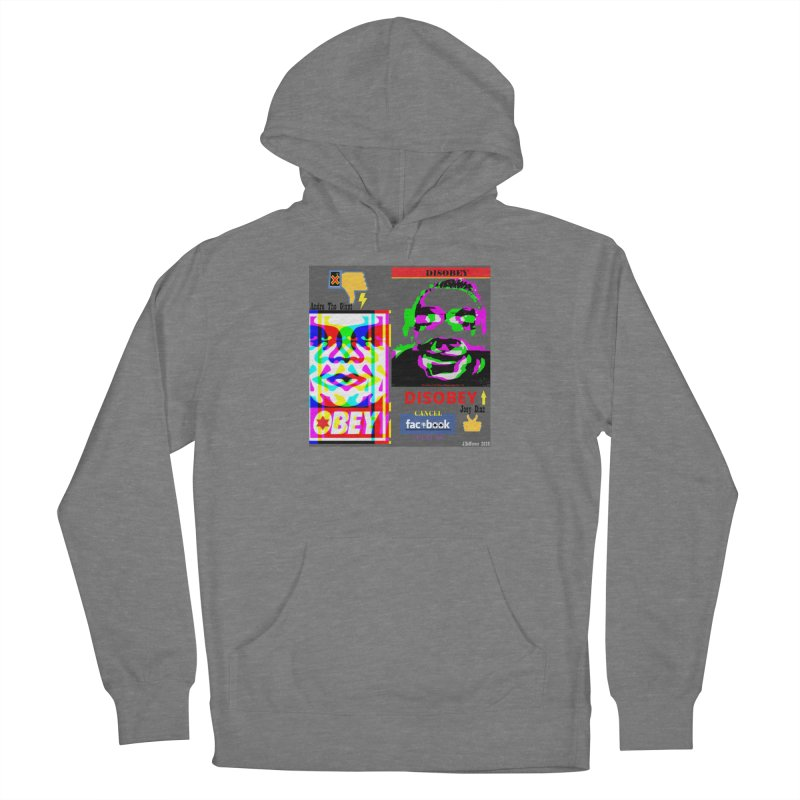 OBEY DISOBEY 2020 Women's Pullover Hoody by James DeWeaver - Artist - Official Merchandise