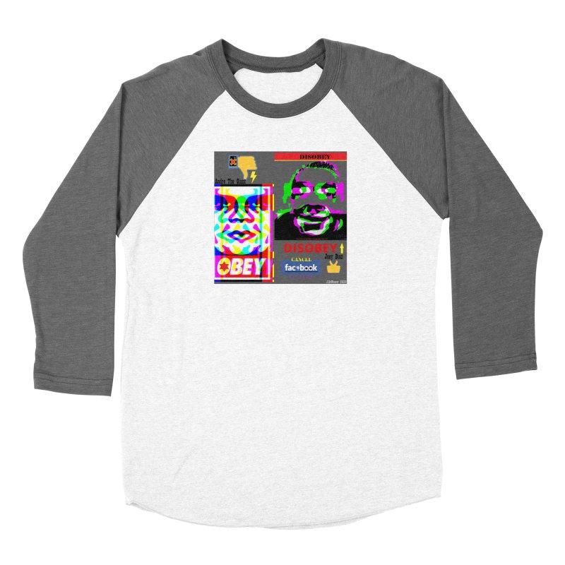 OBEY DISOBEY 2020 Men's Longsleeve T-Shirt by James DeWeaver - Artist - Official Merchandise