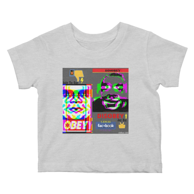 OBEY DISOBEY 2020 Kids Baby T-Shirt by James DeWeaver - Artist - Official Merchandise