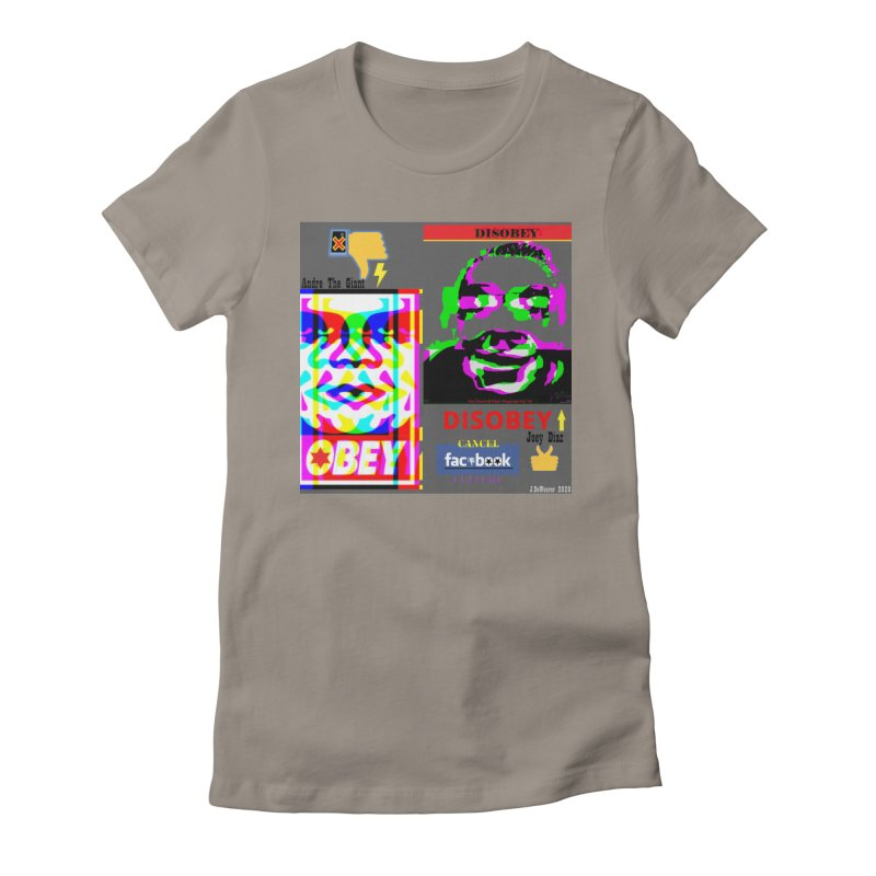 OBEY DISOBEY 2020 Women's T-Shirt by James DeWeaver - Artist - Official Merchandise