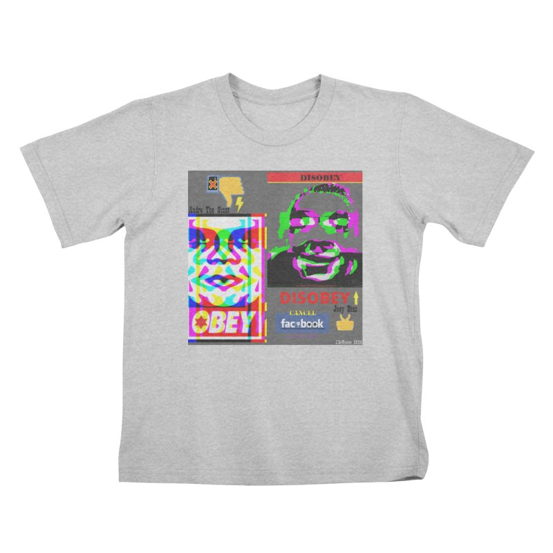 OBEY DISOBEY 2020 Kids T-Shirt by James DeWeaver - Artist - Official Merchandise