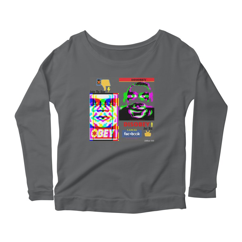 OBEY DISOBEY 2020 Women's Longsleeve T-Shirt by James DeWeaver - Artist - Official Merchandise