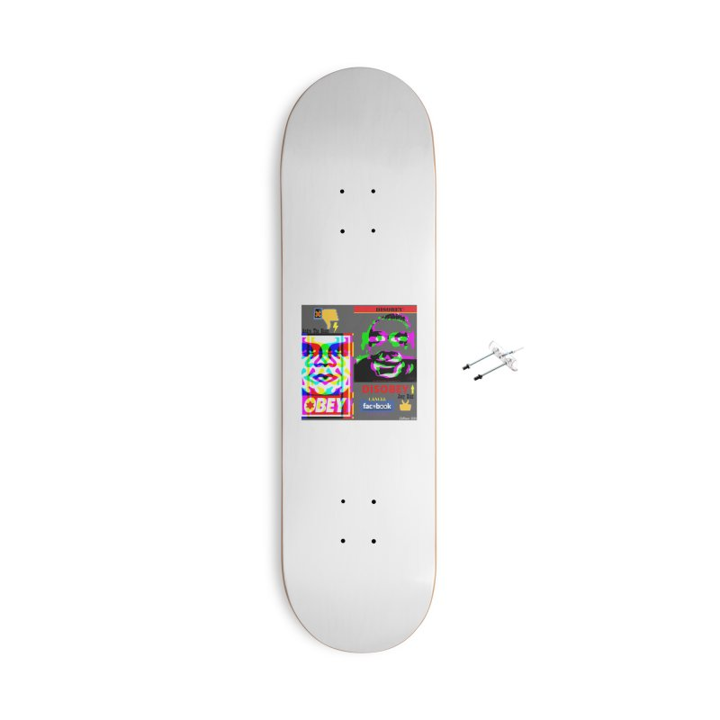 OBEY DISOBEY 2020 Accessories Skateboard by James DeWeaver - Artist - Official Merchandise