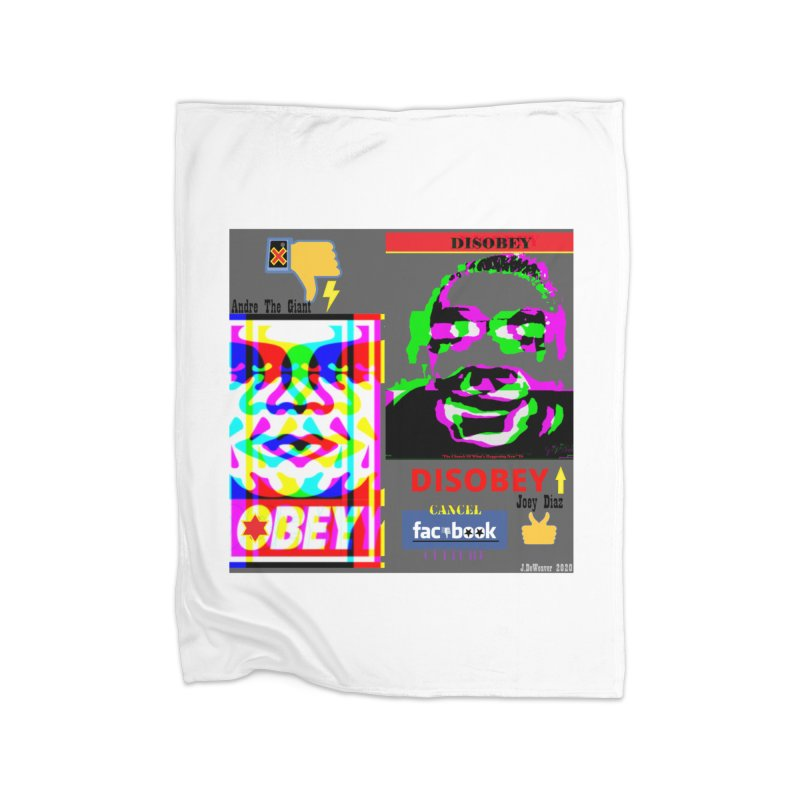 OBEY DISOBEY 2020 Home Blanket by James DeWeaver - Artist - Official Merchandise