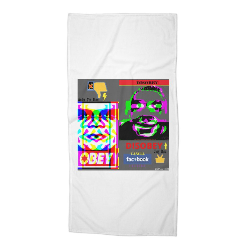 OBEY DISOBEY 2020 Accessories Beach Towel by James DeWeaver - Artist - Official Merchandise