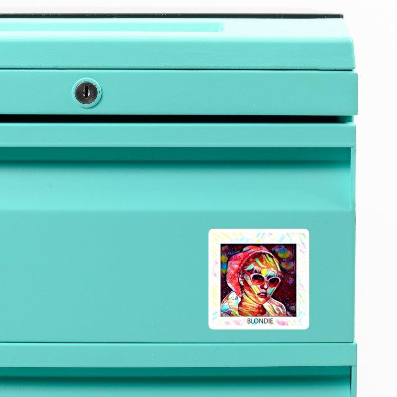 BLONDIE 2020 Accessories Magnet by James DeWeaver - Artist - Official Merchandise