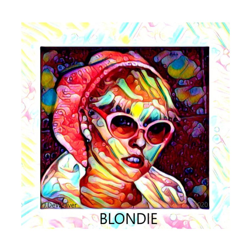BLONDIE 2020 Accessories Face Mask by James DeWeaver - Artist - Official Merchandise