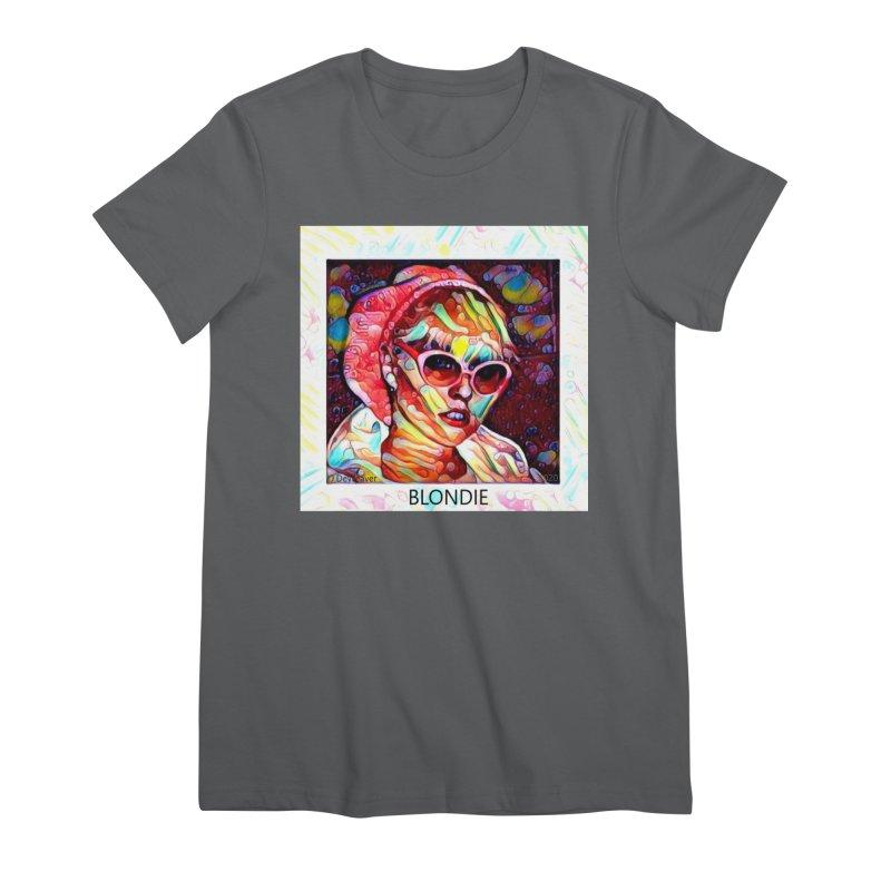 BLONDIE 2020 Women's T-Shirt by James DeWeaver - Artist - Official Merchandise