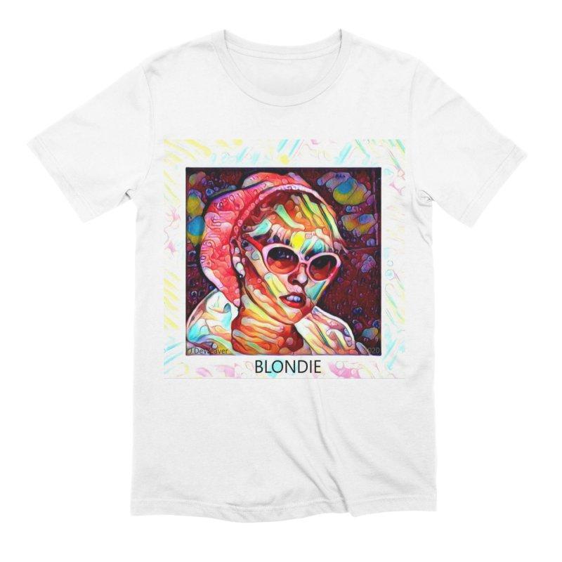 BLONDIE 2020 Men's T-Shirt by James DeWeaver - Artist - Official Merchandise