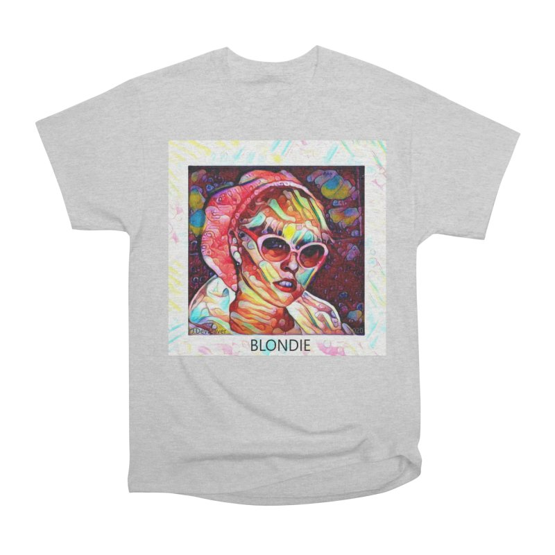 BLONDIE 2020 Men's T-Shirt by James DeWeaver - Artist - Official Merchandise