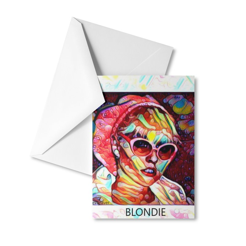 BLONDIE 2020 Accessories Greeting Card by James DeWeaver - Artist - Official Merchandise