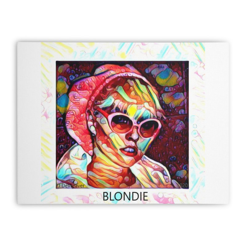 BLONDIE 2020 Home Stretched Canvas by James DeWeaver - Artist - Official Merchandise
