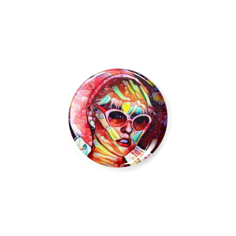 BLONDIE 2020 Accessories Button by James DeWeaver - Artist - Official Merchandise