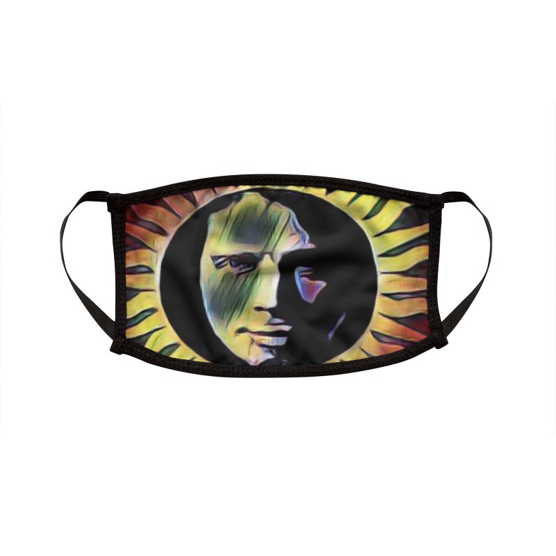 """Chris Cornell """"Shadow on the Sun"""" 2020 Revise of original Accessories Face Mask by James DeWeaver - Artist - Official Merchandise"""