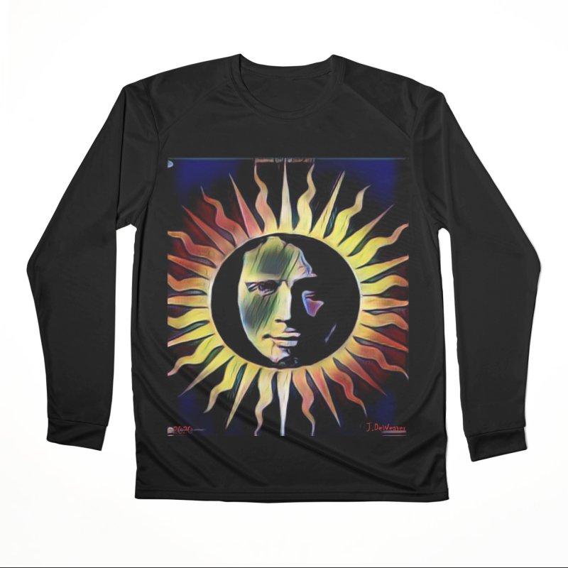"Chris Cornell ""Shadow on the Sun"" 2020 Revise of original Women's Longsleeve T-Shirt by James DeWeaver - Artist - Official Merchandise"