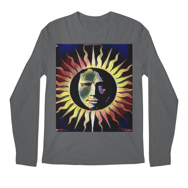 "Chris Cornell ""Shadow on the Sun"" 2020 Revise of original Men's Longsleeve T-Shirt by James DeWeaver - Artist - Official Merchandise"