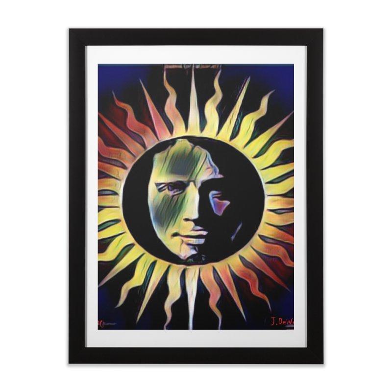 "Chris Cornell ""Shadow on the Sun"" 2020 Revise of original Home Framed Fine Art Print by James DeWeaver - Artist - Official Merchandise"