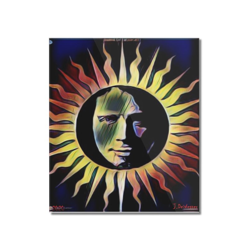 """Chris Cornell """"Shadow on the Sun"""" 2020 Revise of original Home Mounted Acrylic Print by James DeWeaver - Artist - Official Merchandise"""