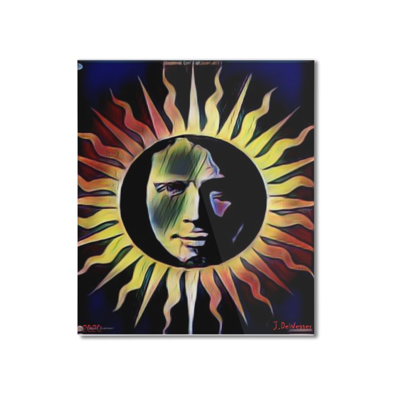 "Chris Cornell ""Shadow on the Sun"" 2020 Revise of original Home Mounted Aluminum Print by James DeWeaver - Artist - Official Merchandise"