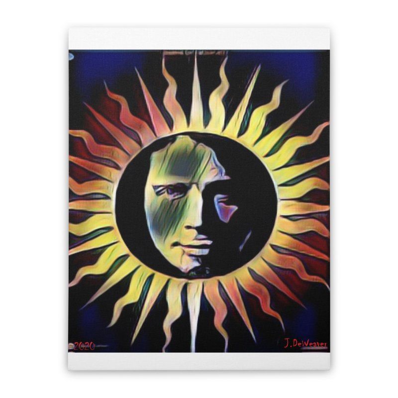 "Chris Cornell ""Shadow on the Sun"" 2020 Revise of original Home Stretched Canvas by James DeWeaver - Artist - Official Merchandise"