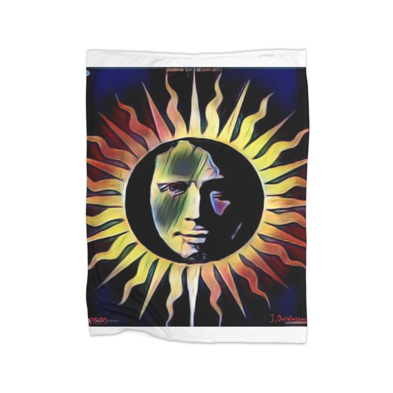 "Chris Cornell ""Shadow on the Sun"" 2020 Revise of original Home Blanket by James DeWeaver - Artist - Official Merchandise"
