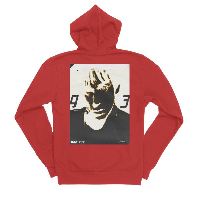 IGGY '93 20200 Men's Zip-Up Hoody by James DeWeaver - Artist - Official Merchandise