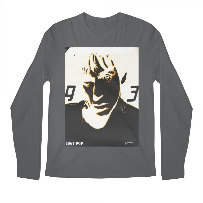 IGGY '93 20200 Men's Longsleeve T-Shirt by James DeWeaver - Artist - Official Merchandise