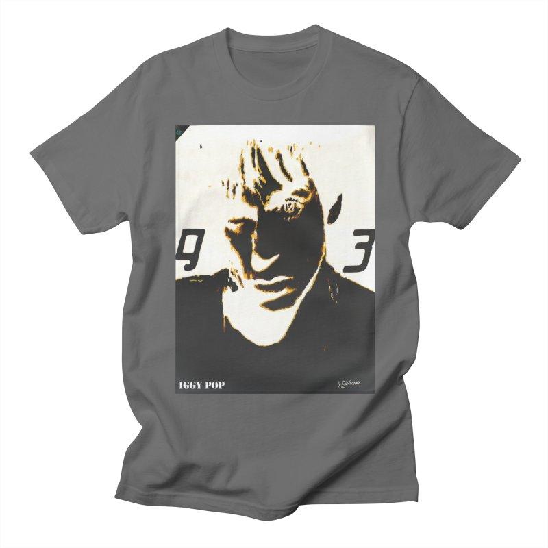 IGGY '93 20200 Men's T-Shirt by James DeWeaver - Artist - Official Merchandise