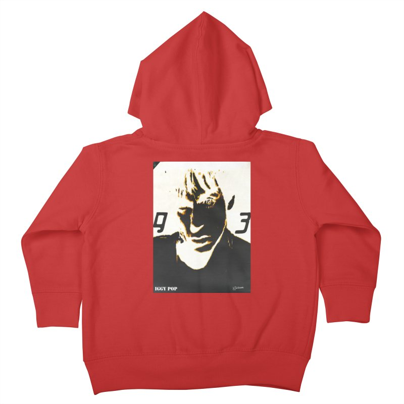 IGGY '93 20200 Kids Toddler Zip-Up Hoody by James DeWeaver - Artist - Official Merchandise